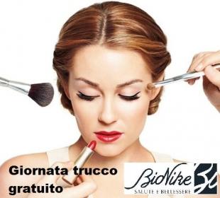 mercoledì 5 Ottobre  make up Bionike